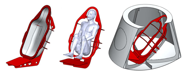Seating design for TDSII. Image: Kristian von Bengtson.