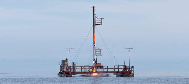 Nexø I moving up the rail. Photo: Carsten Olsen.