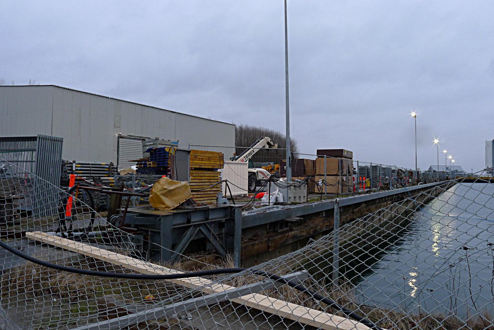 The drydock area after the metro team took over. Foto: Kristian Elof Sørensen/Copenhagen Suborbitals