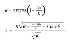 Haack Series Formula