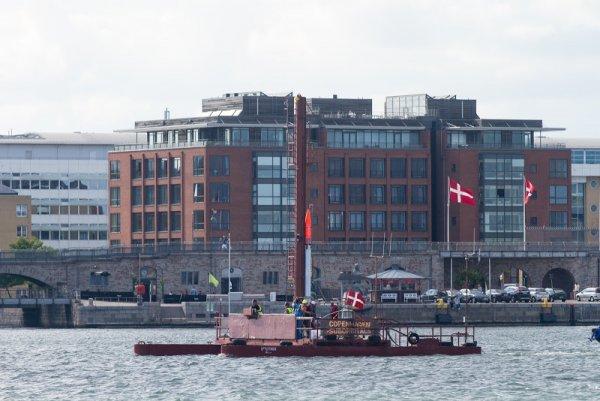 Spuktin in Copenhagen Port