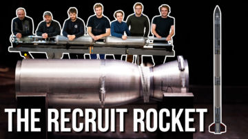 Thumbnail of the youtube video introducing the recruits initiative and the first recruits team.